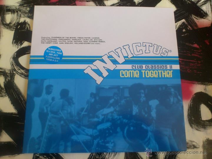 INVICTUS - CLUB CLASSICS II - COME TOGETHER - DOBLE LP - VINILO - SANCTUARY - 2001 (Música - Discos - LP Vinilo - Funk, Soul y Black Music)