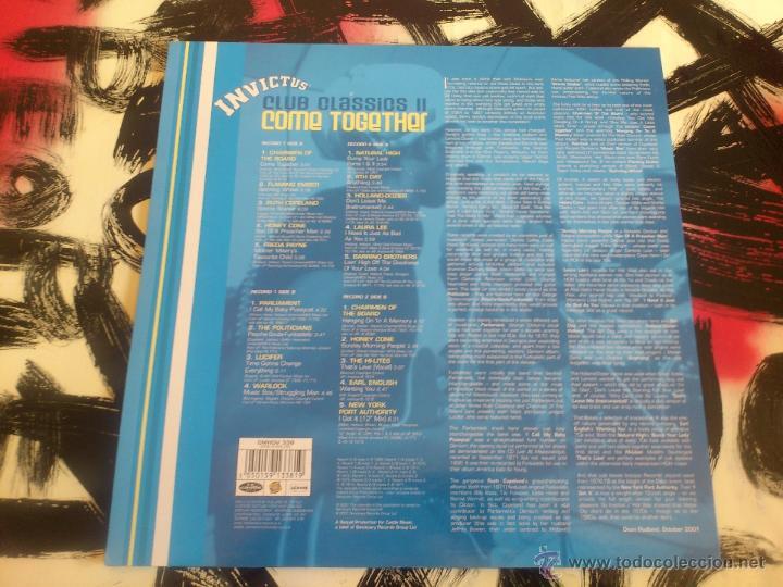 Discos de vinilo: INVICTUS - CLUB CLASSICS II - COME TOGETHER - DOBLE LP - VINILO - SANCTUARY - 2001 - Foto 2 - 53072496