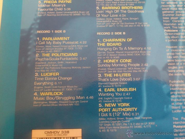 Discos de vinilo: INVICTUS - CLUB CLASSICS II - COME TOGETHER - DOBLE LP - VINILO - SANCTUARY - 2001 - Foto 5 - 53072496