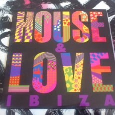 Discos de vinilo: HOUSE & LOVE IBIZA - DIMAS CARBAJO - LP - VINILO - GRIND - 1989. Lote 53073306