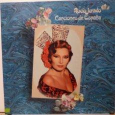 Discos de vinilo: ROCIO JURADO - CANCIONES DE ESPAÑA. Lote 53075457