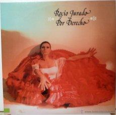 Discos de vinilo: ROCIO JURADO - POR DERECHO (DOBLE LP). Lote 57500190