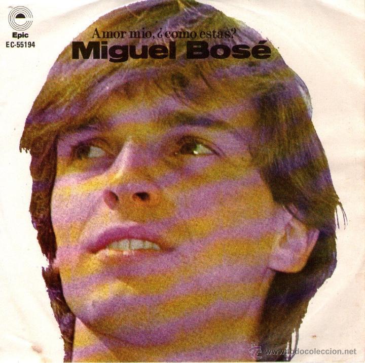 MIGUEL BOSÉ - EP VINILO 7'' - EDITADO EN MÉXICO / MÉJICO - LINDA - MI LIBERTAD + 2 - EPIC 1978 (Música - Discos de Vinilo - EPs - Solistas Españoles de los 70 a la actualidad)