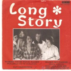 Discos de vinilo: EP LONG STORY -WORDS FROM YOUR HAERT-JAY CHRISTINA- HALLO MY FRIEHD- YOU ARE FOR ME. Lote 53078165