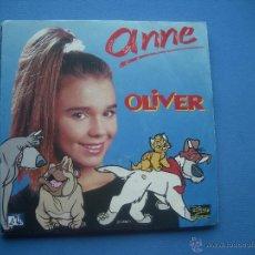 Discos de vinil: ANNE OLIVER 2 VERSIONES 1989 WALT DISNEY SINGLE. Lote 53079788