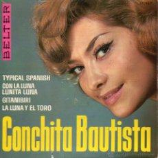 CONCHITA BAUTISTA, EP, TYPICAL SPANISH + 3, AÑO 1965