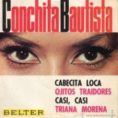 CONCHITA BAUTISTA, EP, CABECITA LOCA + 3, AÑO 1965