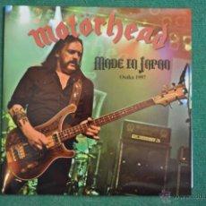 Discos de vinilo: MOTORHEAD - MADE IN JAPAN (2 X LP'S) VINILO TRANSPARENTE. Lote 53082359