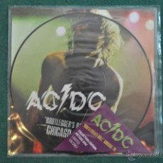 Discos de vinilo: AC/DC - BOOTLEGGERS BALL CHICAGO '78 (PICTURE DISC). Lote 53082393