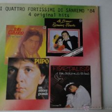 Discos de vinilo: FIORDALISO -YO NO TE PIDO LA LUNA - - 1984 ITALY BABY RECORDS. Lote 53083713