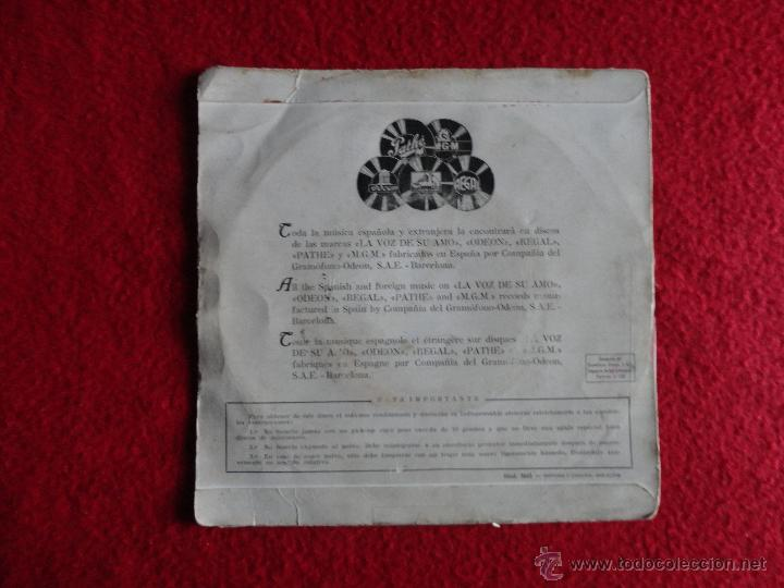 Discos de vinilo: TRIO LOS PANCHOS - LOS DOS / DILEMA / DEPENDE DE TI / LLEVAME // EP - Foto 2 - 53083902