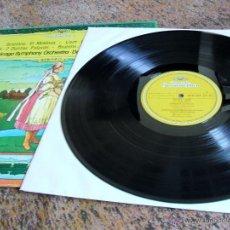 Discos de vinilo: SMETANA: EL MOLDAVA / LISZT: LOS PRELUDIOS / DVORAK: 2 DANZAS ESLAVAS / BRAHMS: DOS DANZAS HUNGARAS. Lote 53084139