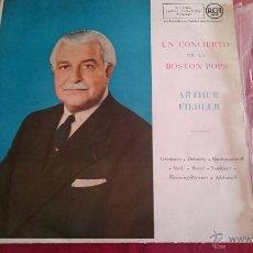Discos de vinilo: UN CONCIERTO DE LA BOSTON POPS - ARTHUR FIEDLER - RCA - 1959. Lote 53084842