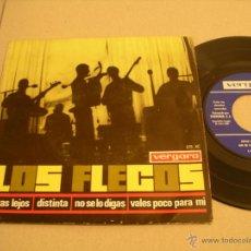 Discos de vinilo: LOS FLECOS EP 45 RPM ESTÁS LEJOS JOSE SACRISTÁN VERGARA ESPAÑA 1965. Lote 53084861