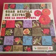 Discos de vinilo: GRAN DESFILE DE EXITOS CON LA BOSTON POPS - 10 DISCOS - RCA -. Lote 53084956