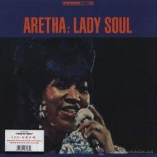 Discos de vinilo: LP ARETHA FRANKLIN LADY SOUL 180 G VINILO. Lote 22740569