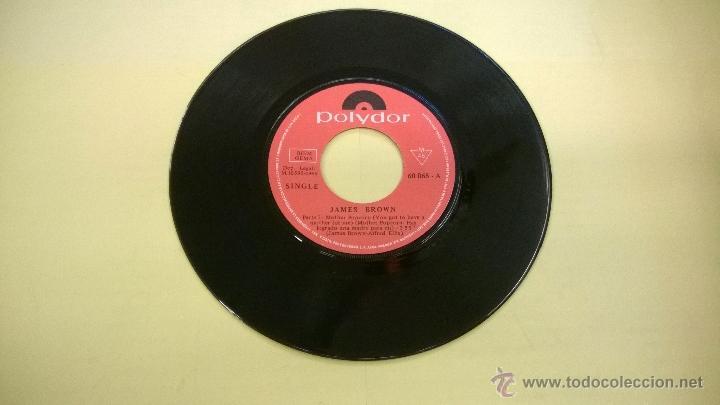 Discos de vinilo: James Brown.Mother Popcorn.SINGLE.ESPAÑA 1969.FONOGRAM.POLYDOR. - Foto 3 - 53086447