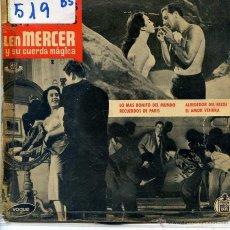 Discos de vinilo: LEN MERCER / LA COLINA DEL ADIOS / SEMILLA DE MALDAD / + 2 (EP 1959). Lote 53086523