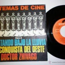 Discos de vinilo: 6 TEMAS DE CINE 1980. Lote 53087155