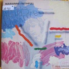 Discos de vinilo: LP - MARIANNE FAITHFULL - A CHILDS ADVENTURE (SPAIN, ISLAND RECORDS 1983). Lote 53087859