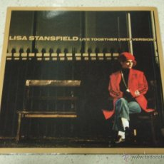 Discos de vinilo: LISA STANSFIELD – LIVE TOGETHER (NEW VERSION) / SING IT UK,1990 ARISTA. Lote 53092100