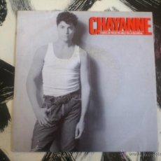 Discos de vinilo: CHAYANNE - FUISTE UN TROZO DE HIELO EN LA ESCARCHA - SINGLE - VINILO - CBS - 1988. Lote 53092942