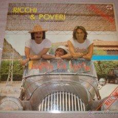 Discos de vinilo: RICCHI E POVERI. HASTA LA VISTA. Lote 53094875