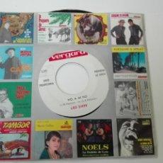 Discos de vinilo: LOS SIREX - NO, A MÍ NO SINGLE PROMO VERGARA UNA SOLA CARA. Lote 53098231