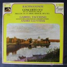 Discos de vinilo: DISCO VINILO RACHMANINOV CONCEERTO N2 EMI LA VOZ DE SU AMO 1964 DCL037. Lote 53100096