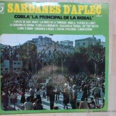 Discos de vinilo: SARDANES DÀPLEC - COBLA``LA PRINCIPAL DE LA BISBAL´´ VOL 2- DISCOPHON 1975. Lote 53100841