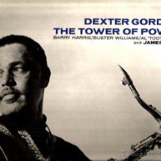 Discos de vinilo: LP DEXTER GORDON : THE TOWER OF POWER. Lote 53101222