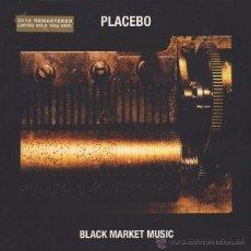 Discos de vinilo: LP PLACEBO BLACK MARKET MUSIC VINYL 180G 2015 REMASTERED LTD GOLD VINILO. Lote 53103737