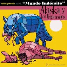 Discos de vinilo: 2LP ALASKA Y LOS PEGAMOIDES MUNDO INDOMITO VINILO ARAMBURU. Lote 83277639