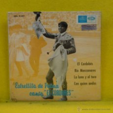 Discos de vinilo: ESTRELLITA DE PALMA - EL CORDOBES + 3 - EP. Lote 53104648