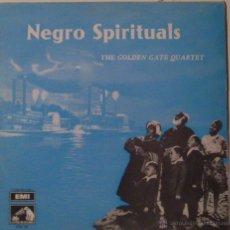 Discos de vinilo: NEGRO SPIRITUALS, THE GOLDEN GATE QUARTET. Lote 53108728