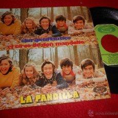 Discos de vinilo: LA PANDILLA CHIRIPITIFLAUTICO / EL CIRCO DE DON MANDOLIO 7 SINGLE 1973 MOVIEPLAY. Lote 53111589
