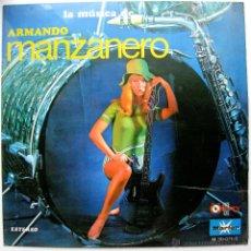 Discos de vinilo: PETER DELIS Y SU ORQUESTA - ARMANDO MANZANERO Y SU MÚSICA - LP MARFER / VIRREY 1968 BPY. Lote 53125170