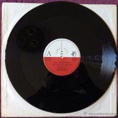 Discos de vinilo: ELEGANTES, LOS - EN LA CALLE DEL RITMO + 2 (RARA AVIS 1983) MAXI - SIN PORTADA. Lote 53126125