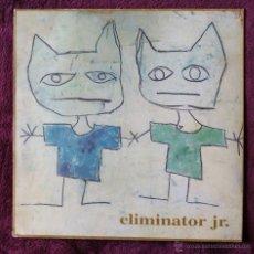 Discos de vinilo: ELIMINATOR JR. CHANDAL (ELEFANT 1994) LP - NACHO VEGAS - ENCARTE. Lote 53126275