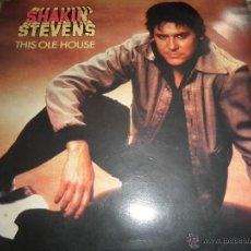 Discos de vinilo: SHAKIN STEVENS - THIS OLE HOUSE LP - ORIGINAL INGLES - EPIC RECORDS 1980 - STEREO -. Lote 53132267