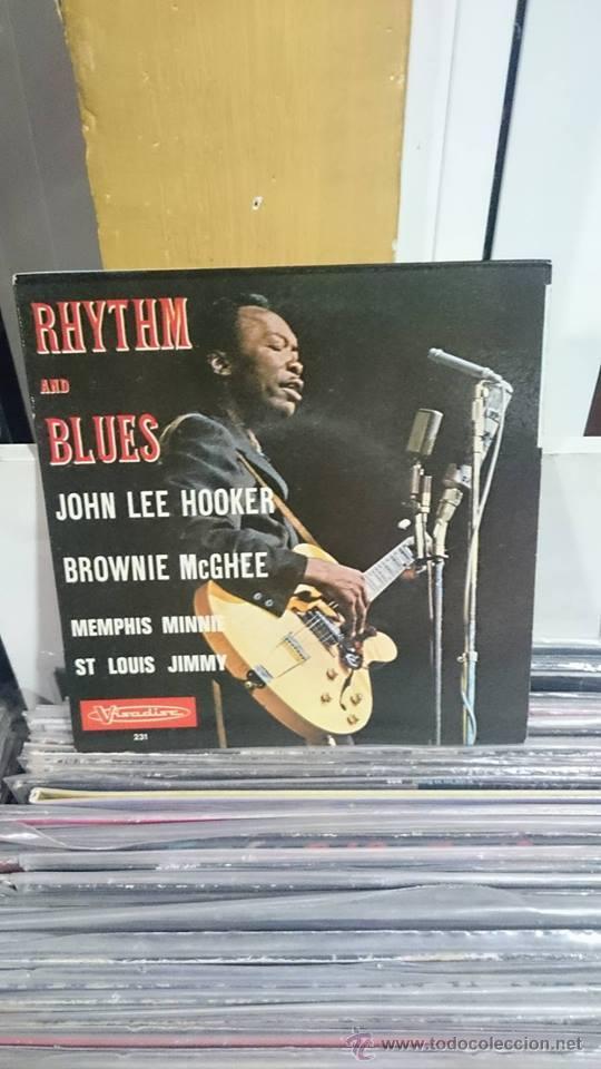 JOHN LEE HOOKER / RHYTHM AND BLUES / VISADIC 1970 (Música - Discos de Vinilo - EPs - Jazz, Jazz-Rock, Blues y R&B)