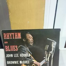 Discos de vinilo: JOHN LEE HOOKER / RHYTHM AND BLUES / VISADIC 1970. Lote 53134052