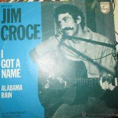 Discos de vinilo: JIM CROCE - I GOT A NAME - EDICION HOLANDESA - 1973 - BSO - OST - DJANGO UNCHAINED. Lote 53135120