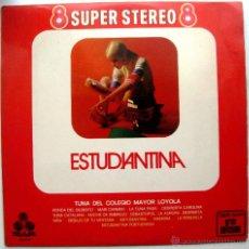 Discos de vinilo: TUNA DEL COLEGIO MAYOR LOYOLA - ESTUDIANTINA - LP TREBOL 1970 BPY. Lote 53136082