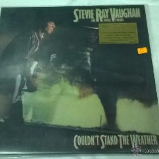 Disques de vinyle: STEVIE RAY VAUGHAN AND DOUBLE TROUBLE- COULDN´T STAND THE WEATHER. Lote 53137417