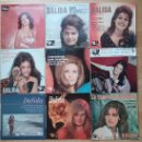 Discos de vinilo: DALIDA LOTE 9 EPES EDICIÓN FRANCESA. Lote 53138657