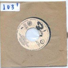 Discos de vinilo: HUGUES AUFRAY / STWEBALL / LE BON DIEU S'ENNUYAIT + 2 (EP PROMO 1966). Lote 53141279