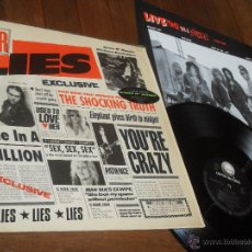 Discos de vinilo: GUNS N´ ROSES LP. G N' R. LIES MADE IN GERMANY. 1988. GEFFEN. Lote 53144069