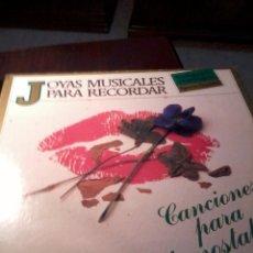 Discos de vinilo: DISCO DE VINILO. JOYAS MUSICALES PARA RECORDAR. CANCIONES PARA LA NOSTALGIA. TRES DISCO. C5V.. Lote 53146058