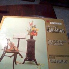 Discos de vinilo: DISCO DE VINILO. AMADEO VIVES BOHEMIOS. ANA MARIA HIGUERAS PEDRO LAVIRGEN. C3V. Lote 53146256